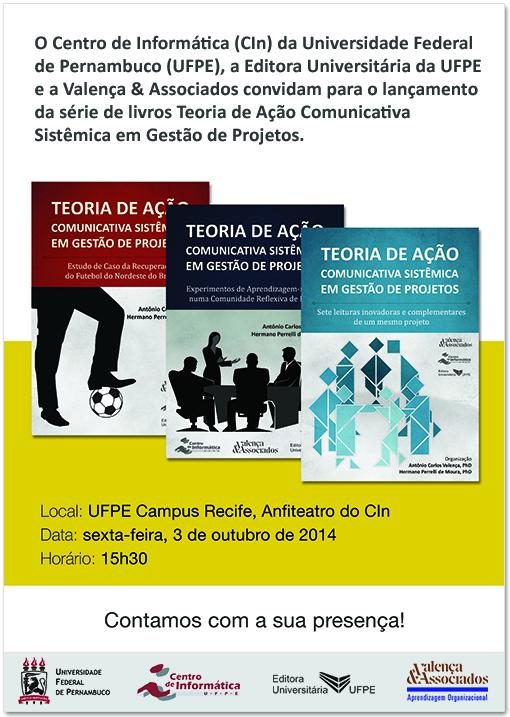Convite Lançamento Livros na UFPE em 3OUT2014-2